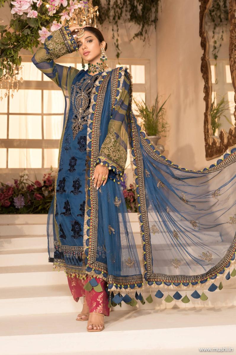 Maria B Mbroidered Eid 2021 D-04