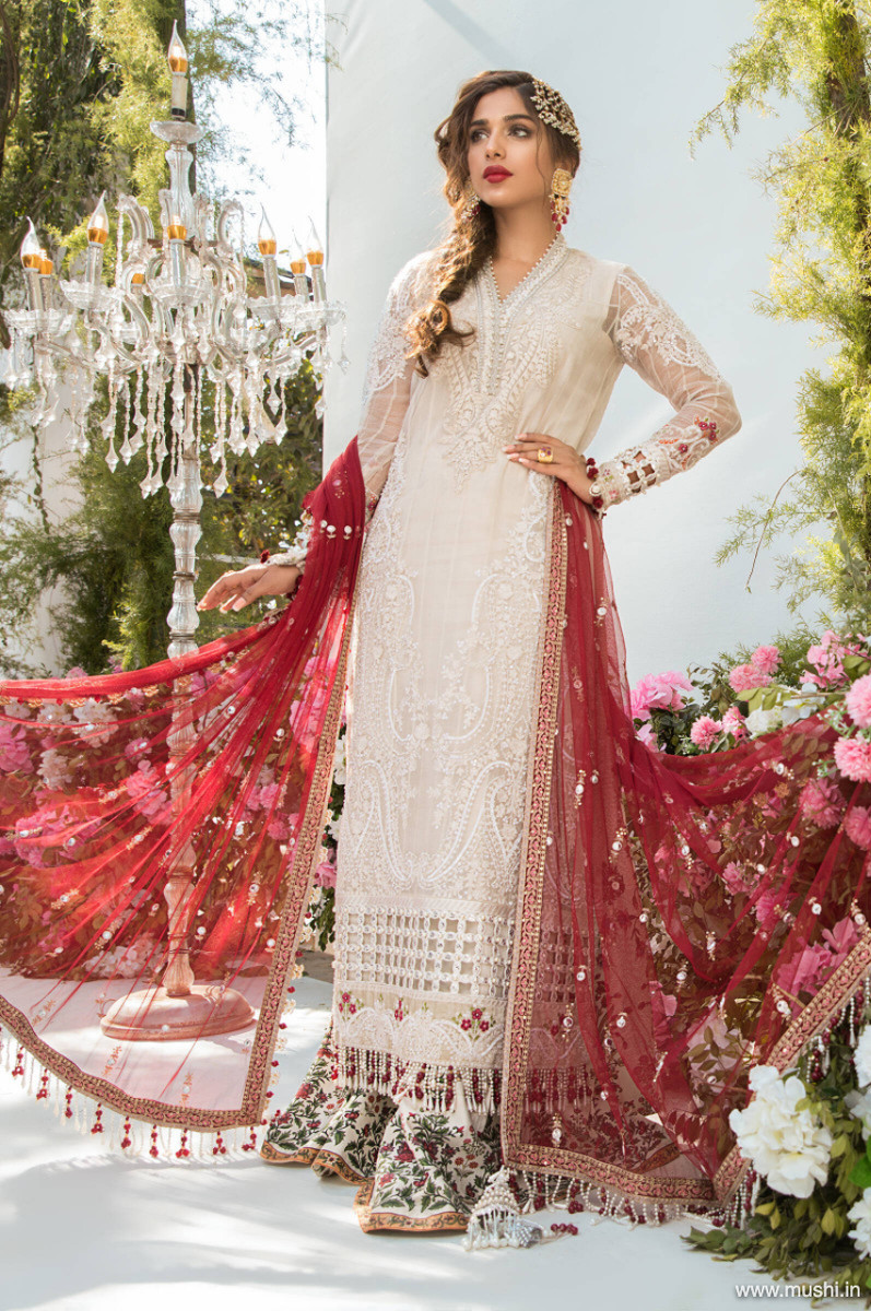 Maria B Mbroidered Eid 2021 D-03