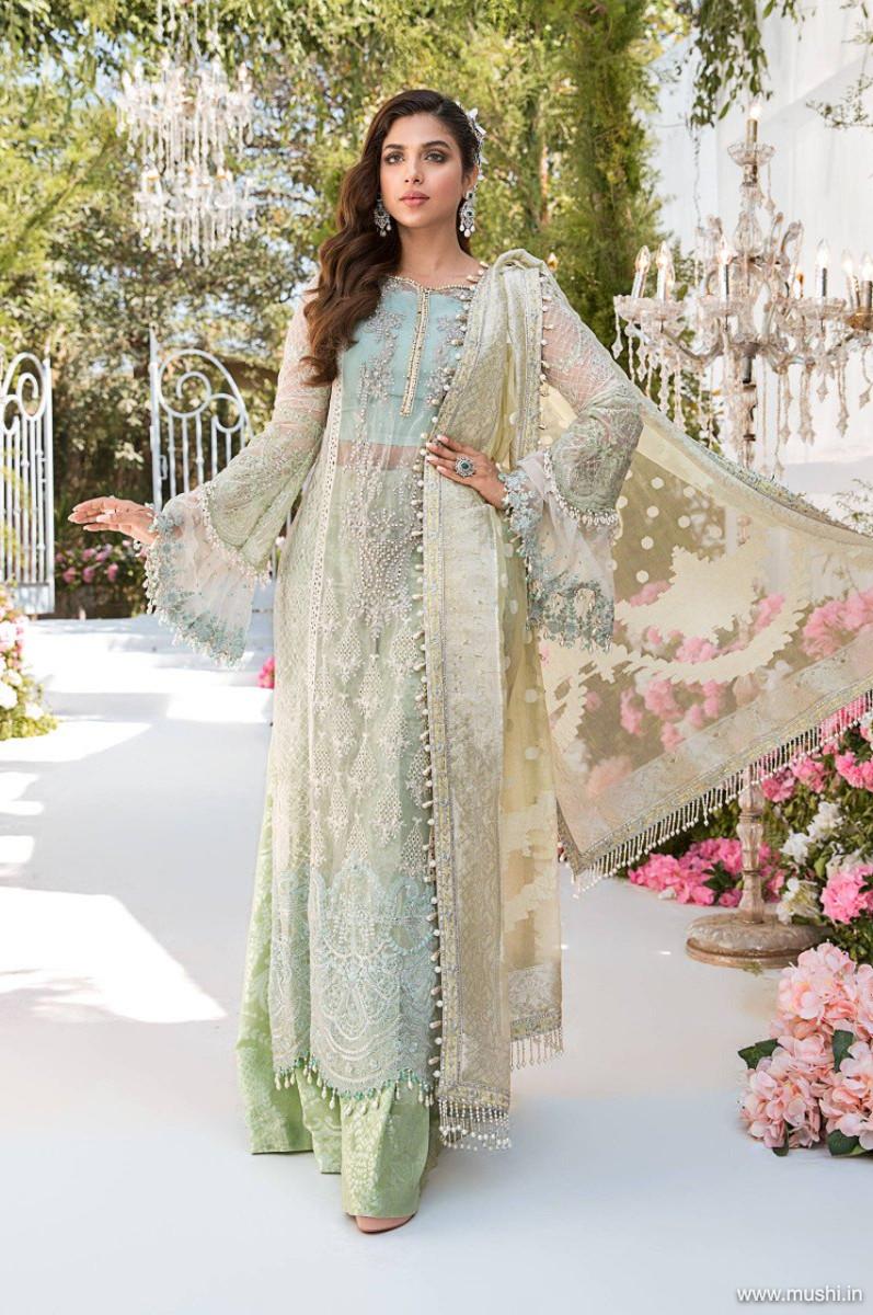 Maria B Mbroidered Eid 2021 D-02