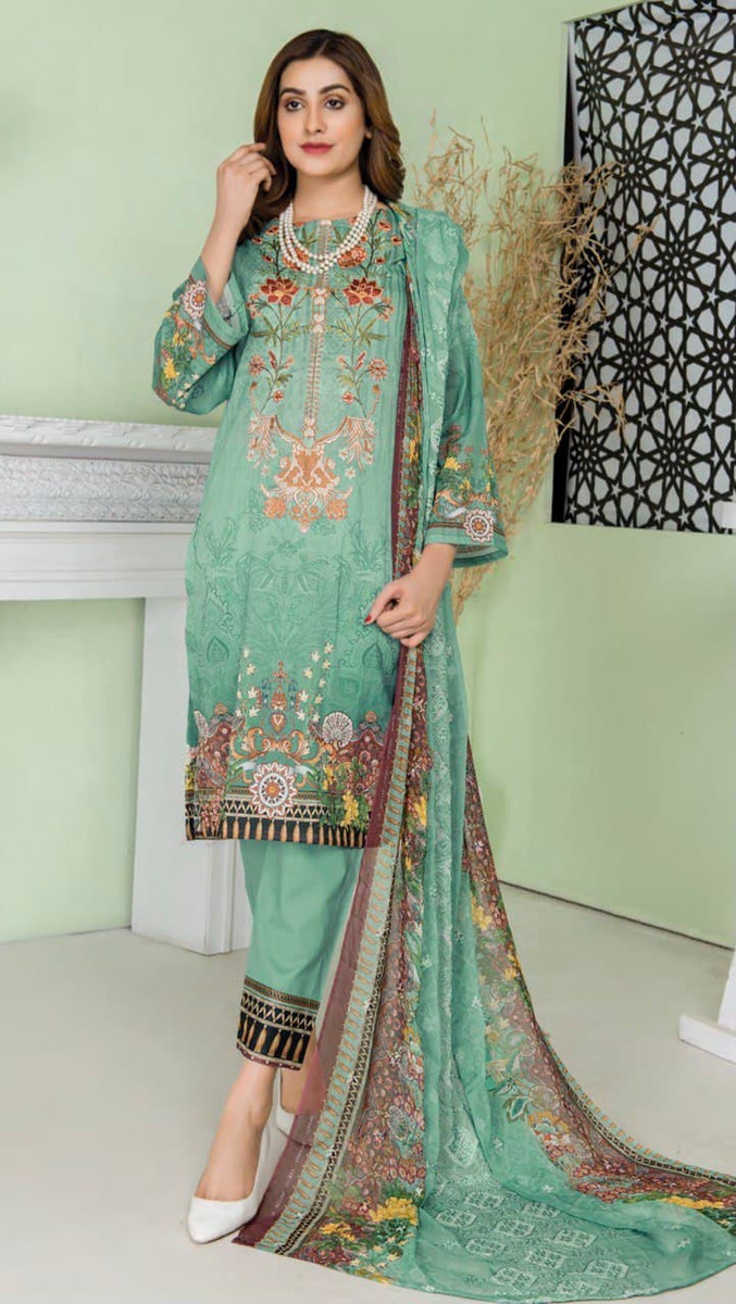Modern Embroidered Lawn Vol-47 M03