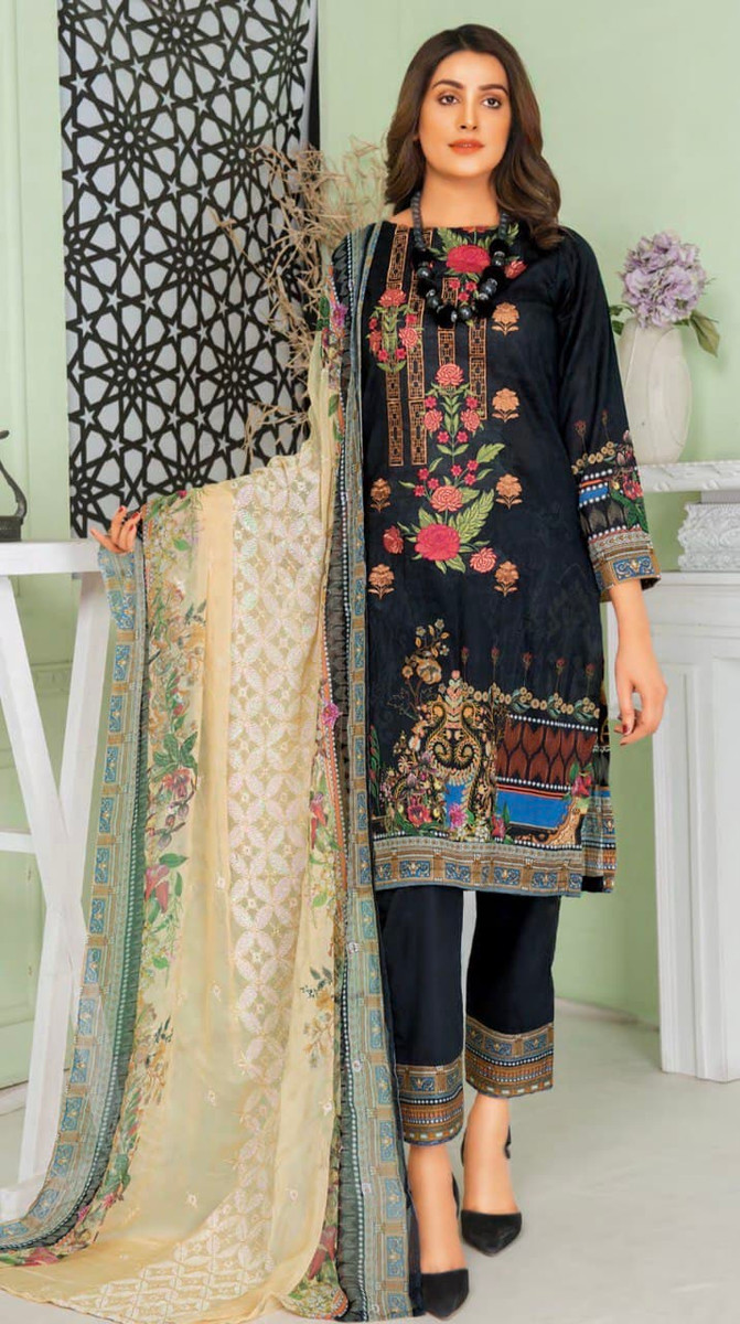 Modern Embroidered Lawn Vol-47 M04