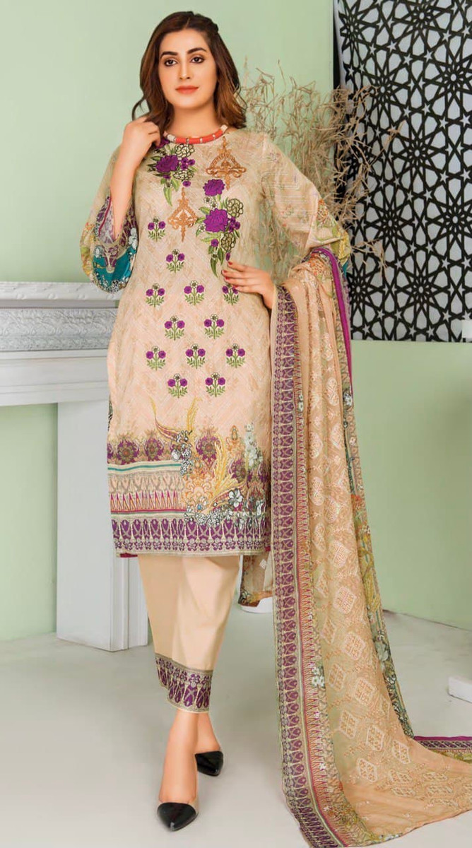 Modern Embroidered Lawn Vol-47 M05