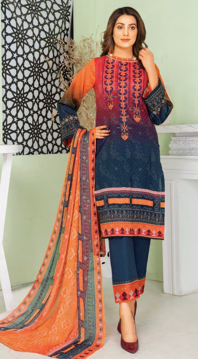 Modern Embroidered Lawn Vol-47 M06