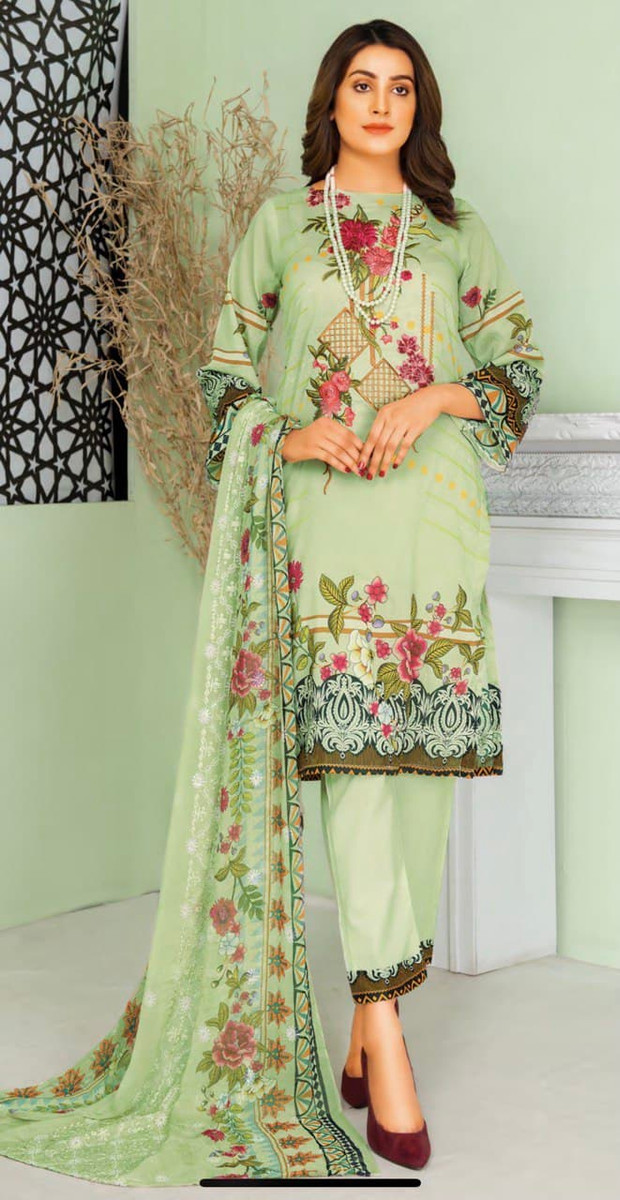 Modern Embroidered Lawn Vol-47 M09
