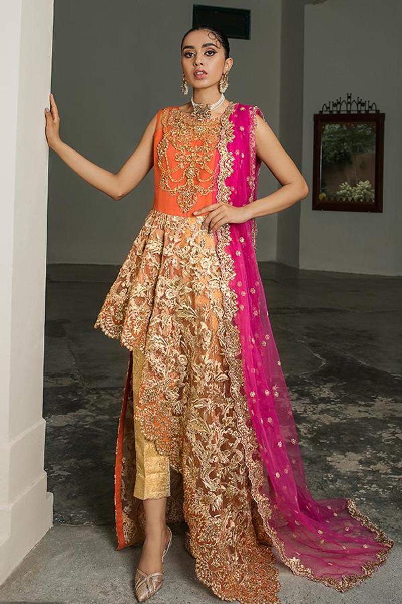 Sooraj Garh Chiffon Collection by Imrozia - I-146 Khush Bakht