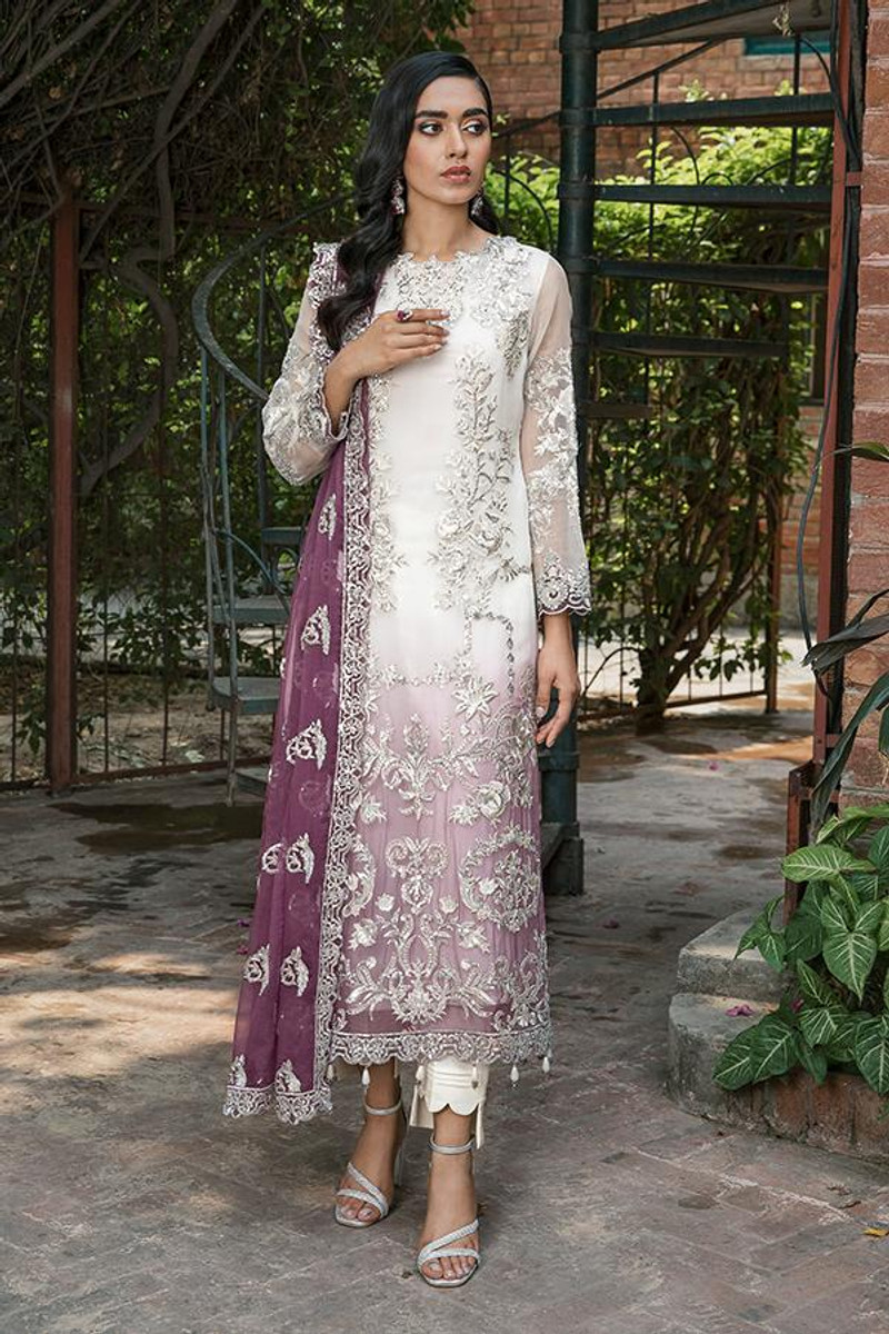 Sooraj Garh Chiffon Collection by Imrozia - I-145 Ambreeen
