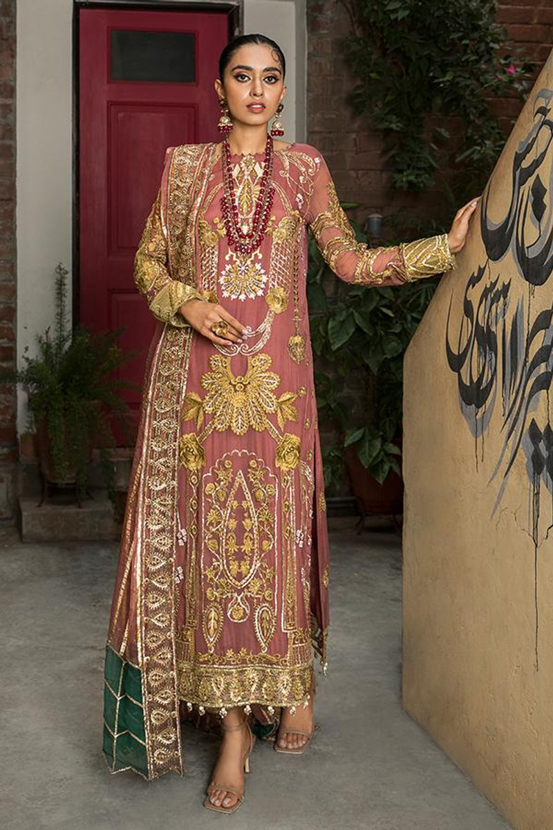 Sooraj Garh Chiffon Collection by Imrozia - I-140 Mumtaz