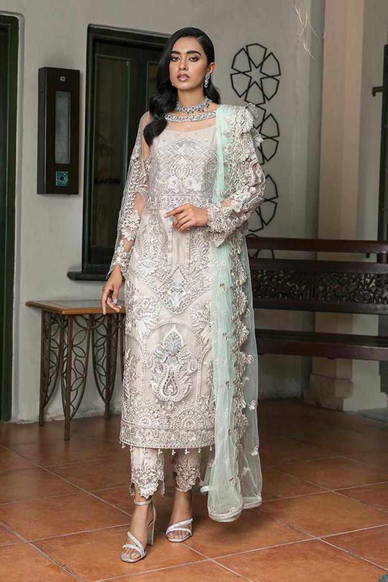 Sooraj Garh Chiffon Collection by Imrozia - I-139 Aayna