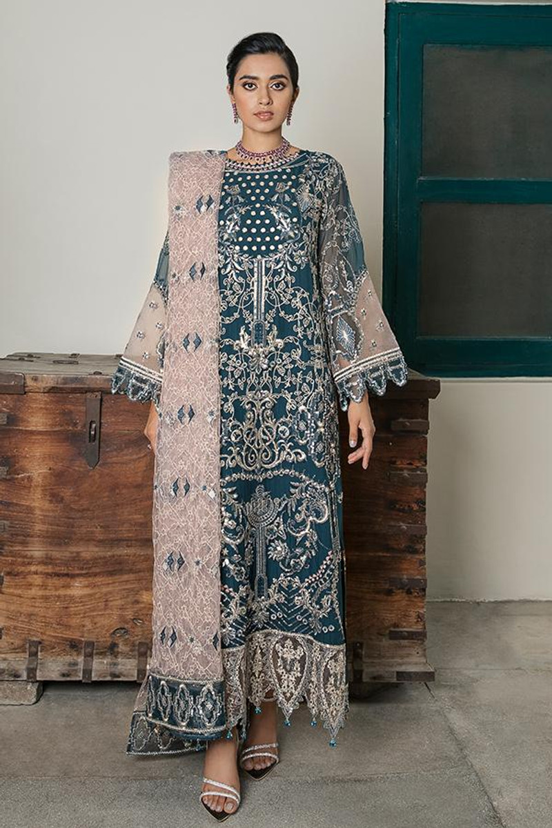 Sooraj Garh Chiffon Collection by Imrozia - I-142 Zohra