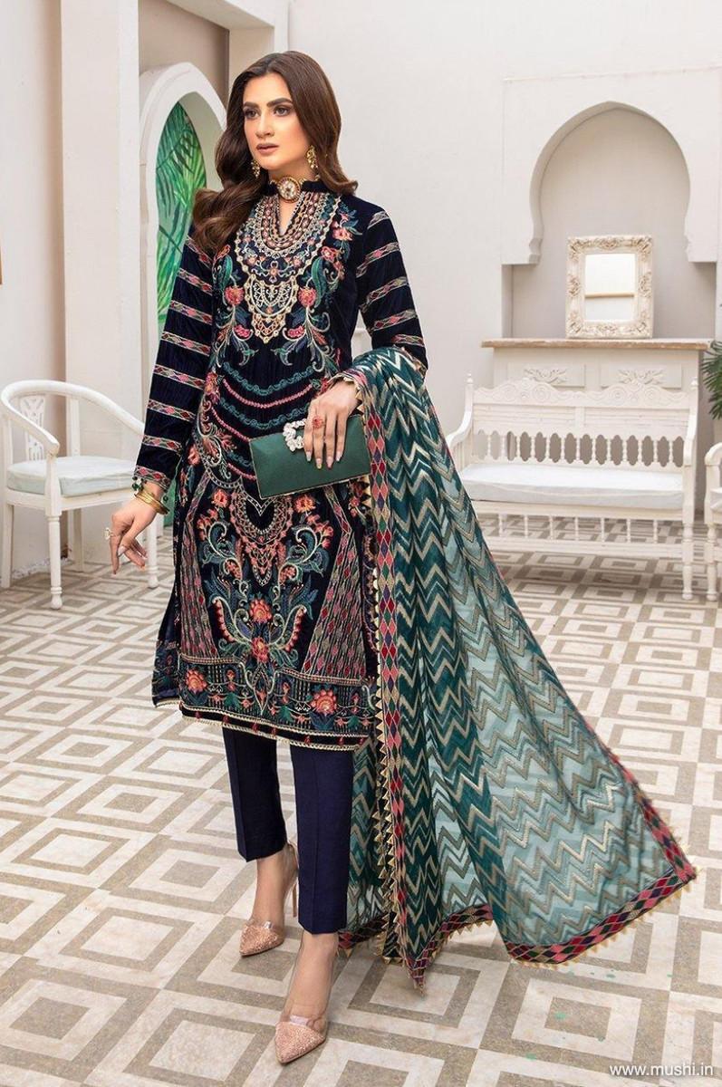 Ameerah Luxury Velvet D-01