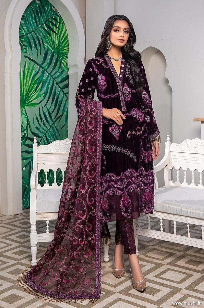 Ameerah Luxury Velvet D-05