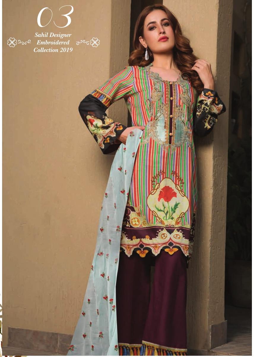 Sahil Designer Lawn SDE-03