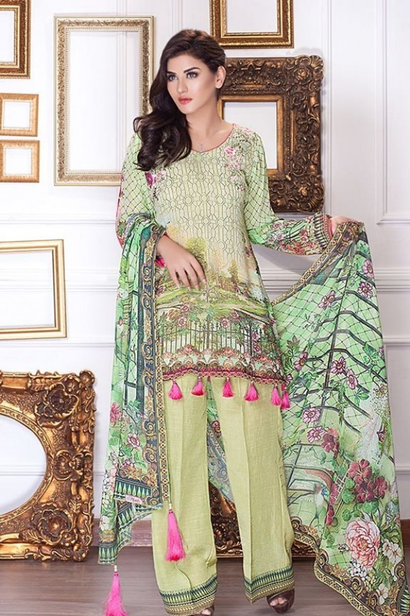 Motifz Embroidered Chiffon MDC-44