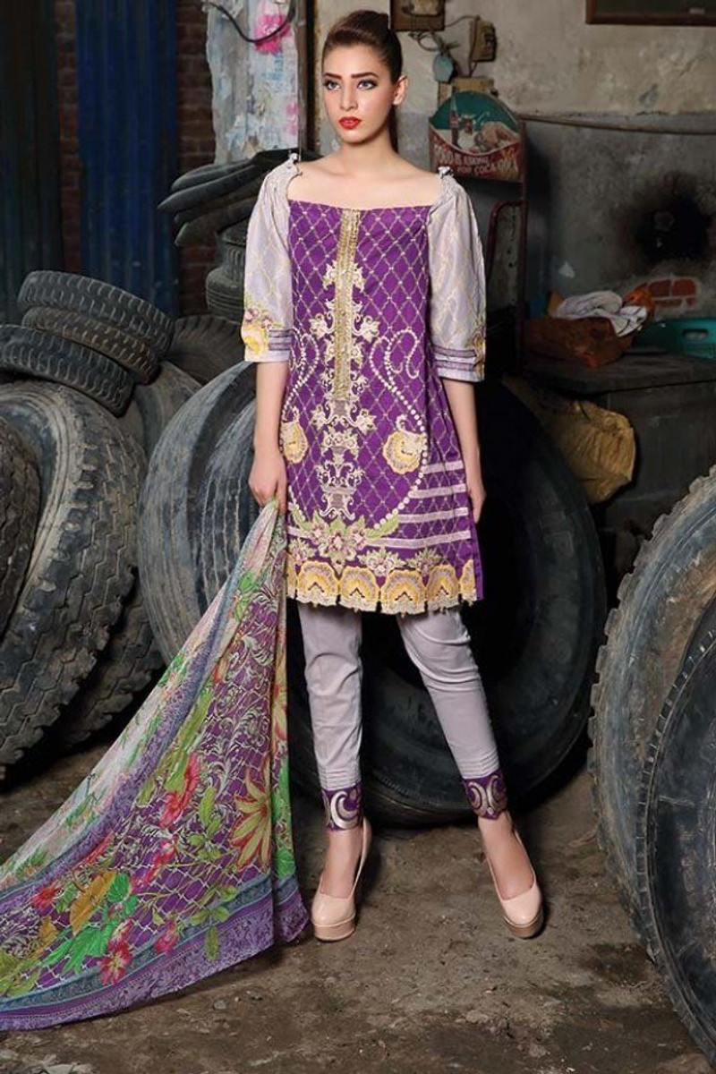 Motifz Embroidered Luxury MT-14A