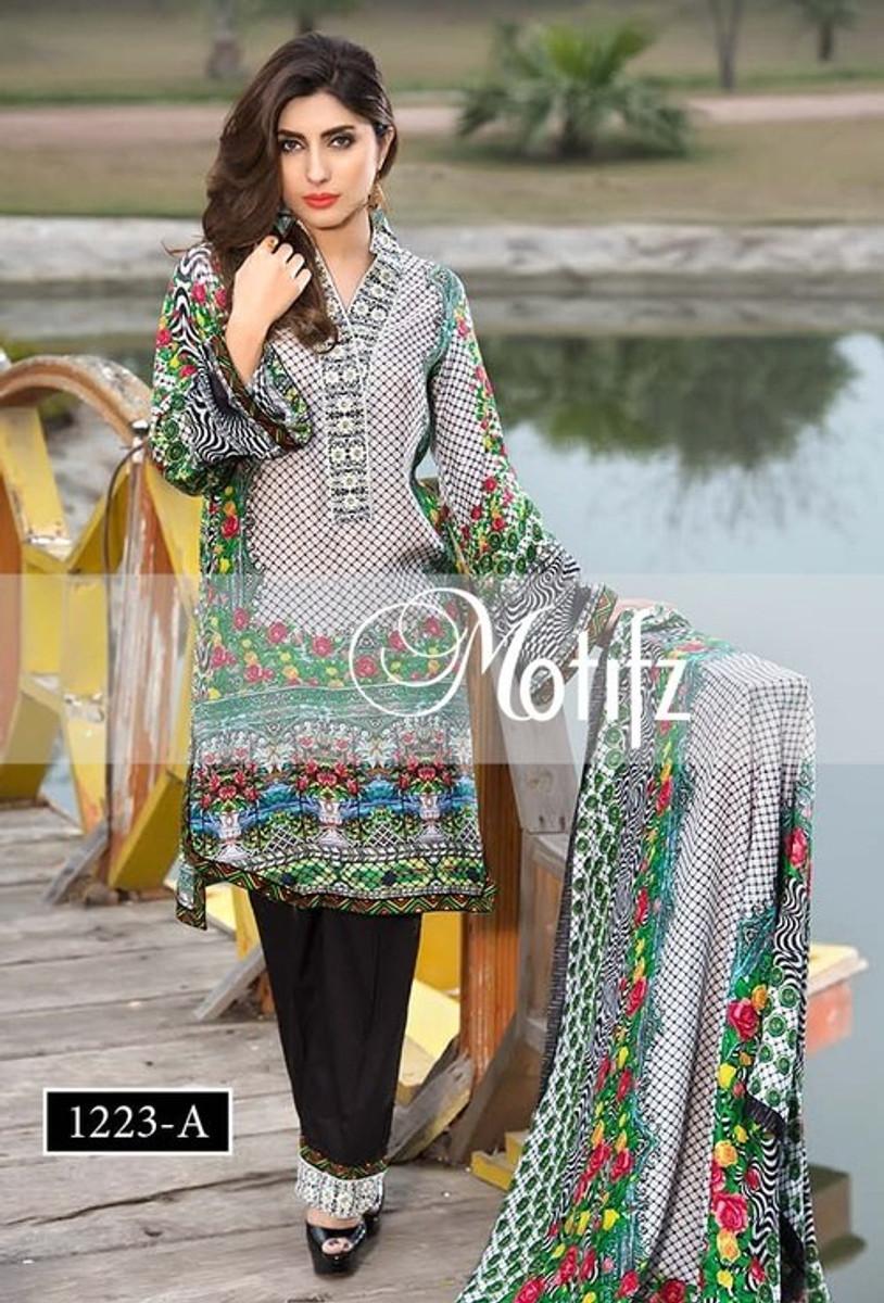Motifz Embroidered Silk MC-23