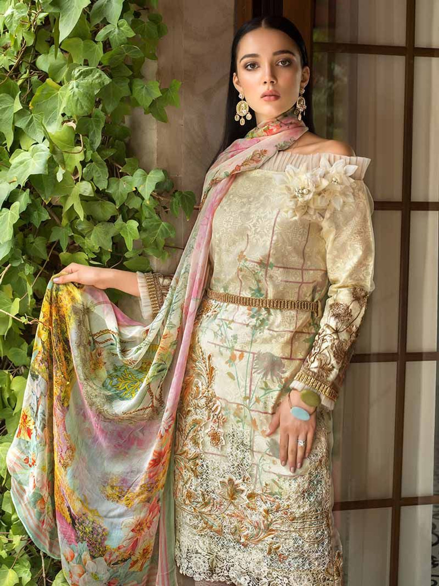 Gul Ahmed Embroidered Laced Love PS-02