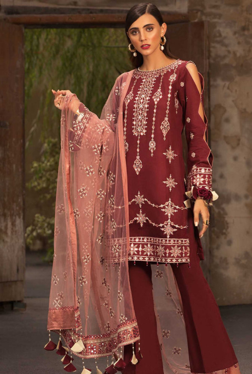 Noor by Saadia Asad Luxury Lawn NSL 09A