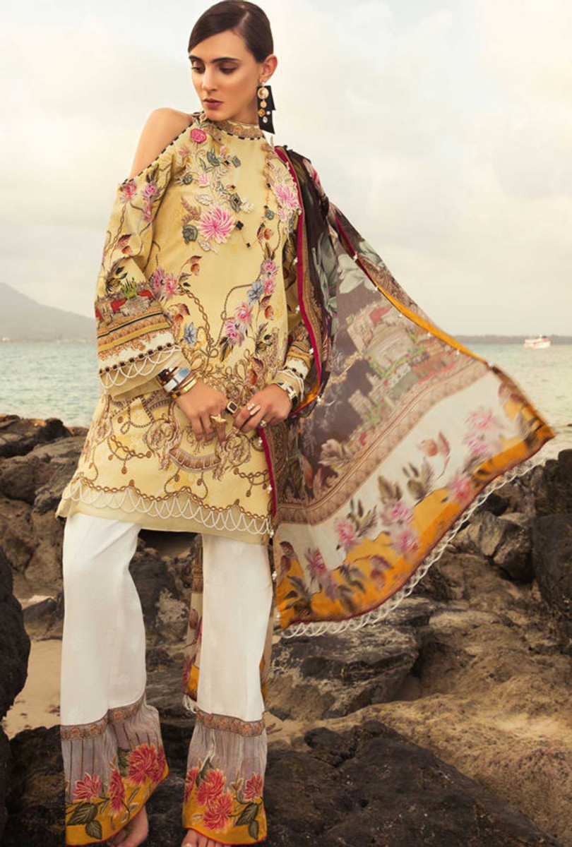 Noor by Saadia Asad Luxury Lawn NSL 06A