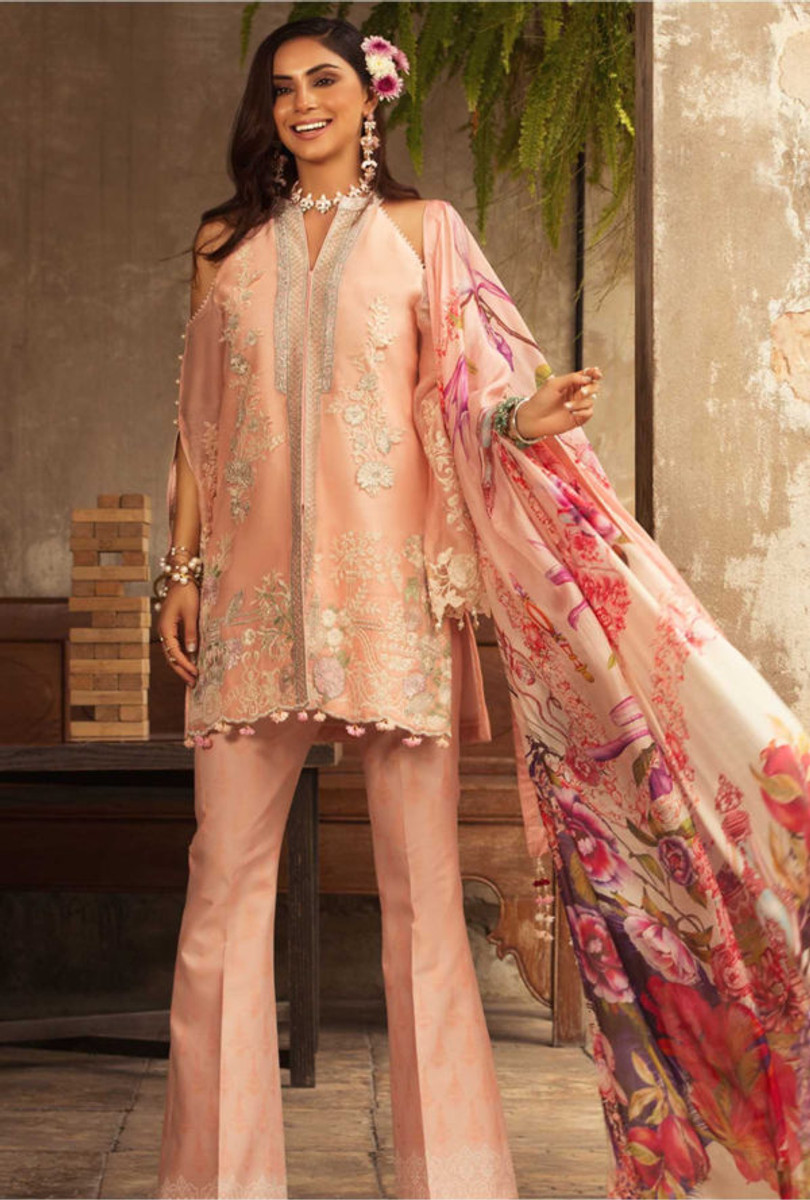 Noor by Saadia Asad Luxury Lawn NSL 03A