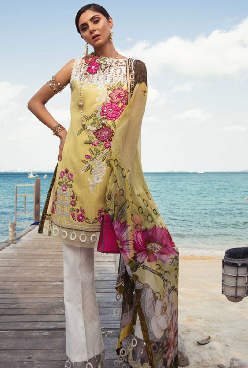 Noor by Saadia Asad Luxury Lawn NSL 02A