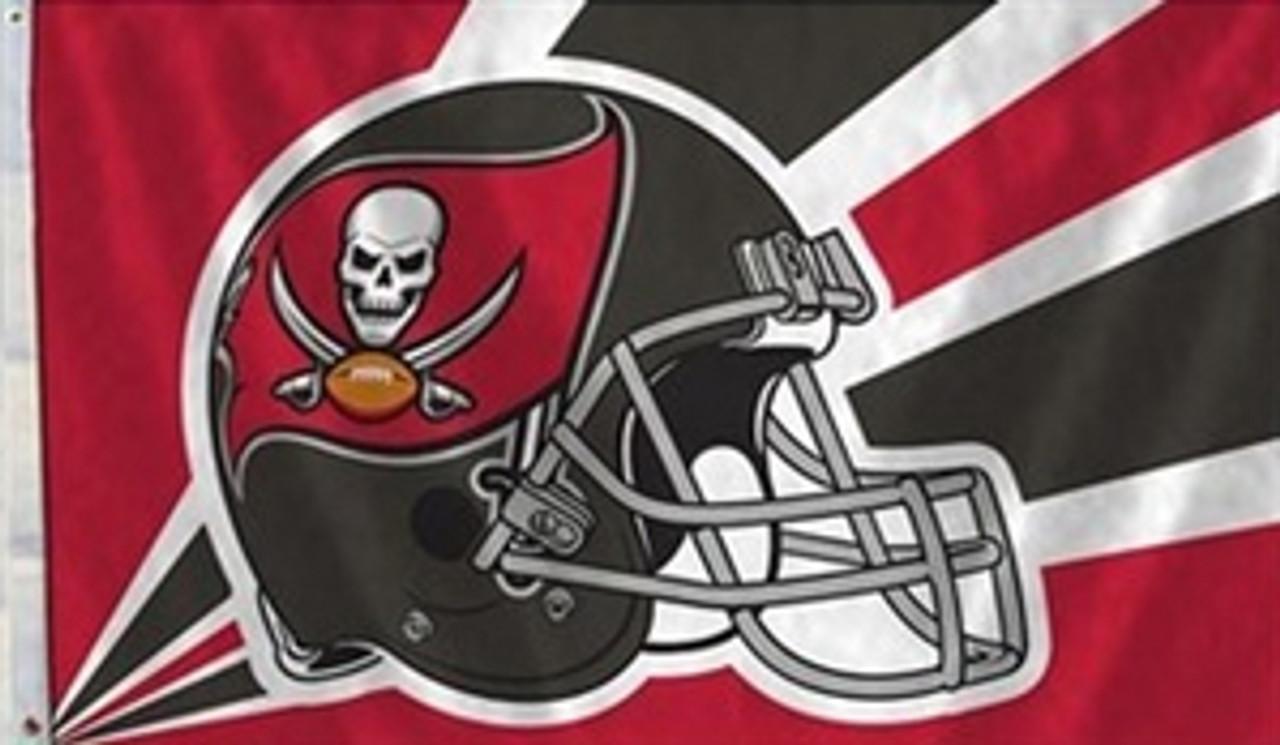 Tampa Bay Buccaneers Helmet Flag 3 X 5 American Flags Express