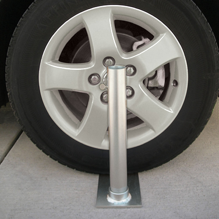 Collapsible Flagpole to Go Wheel Stand