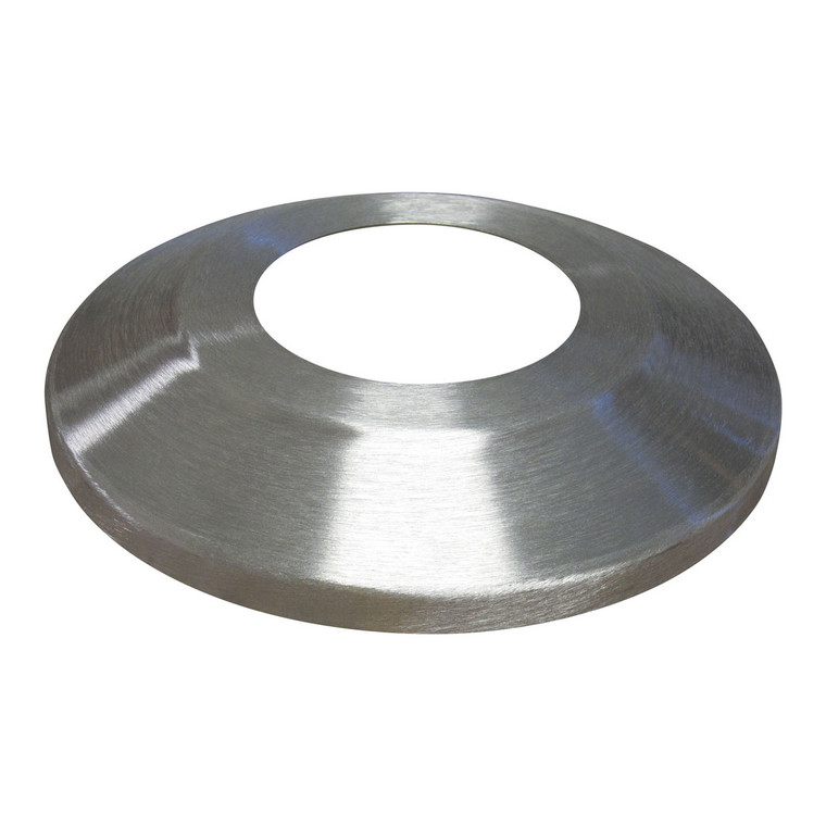 Satin Aluminum Flagpole Flash Collar