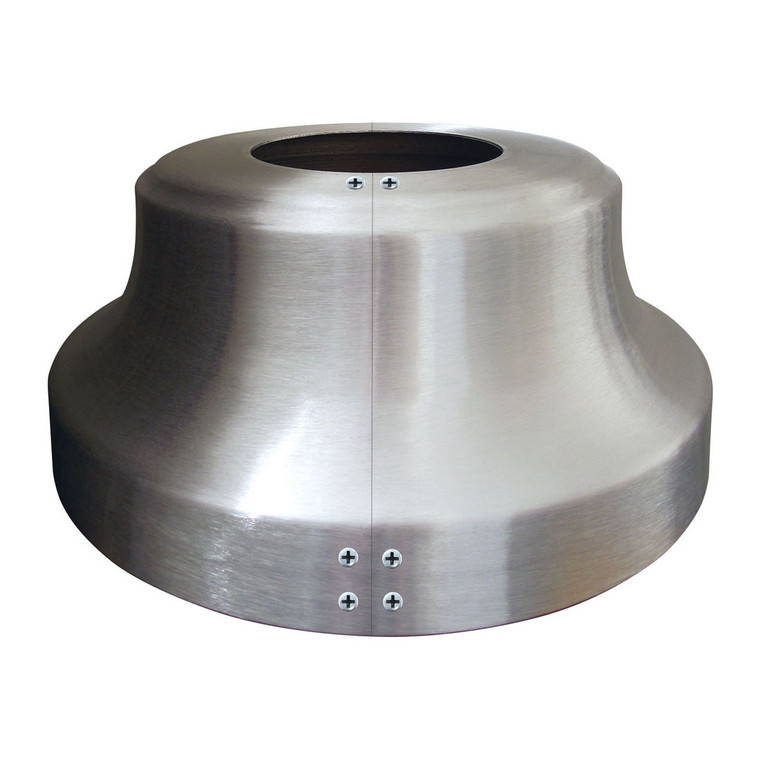 Split High Profile Aluminum Trumpet Flash Collar