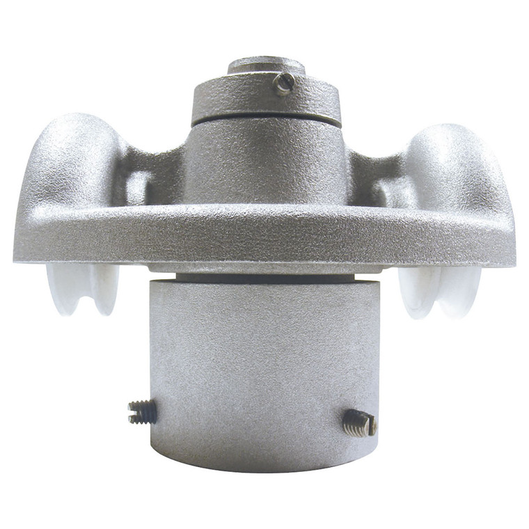 Side View - RTC - 2 Double Pulley Revolving Cap Flagpole Truck