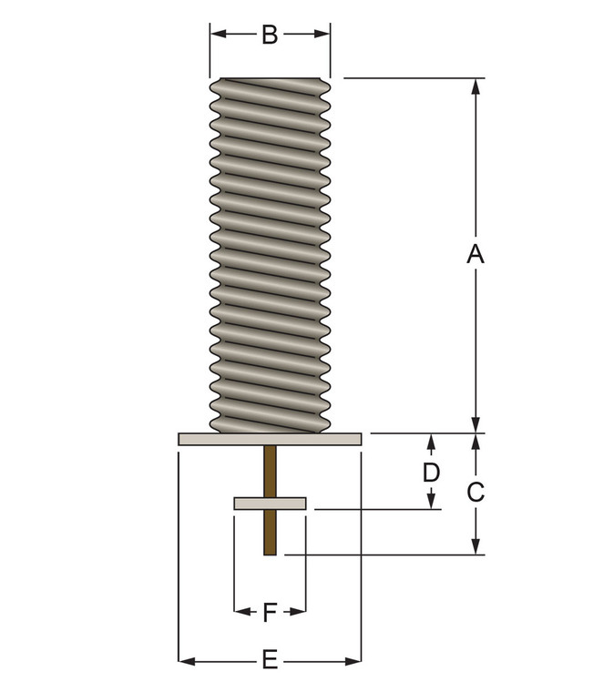 Galvanized Steel Foundation Sleeve