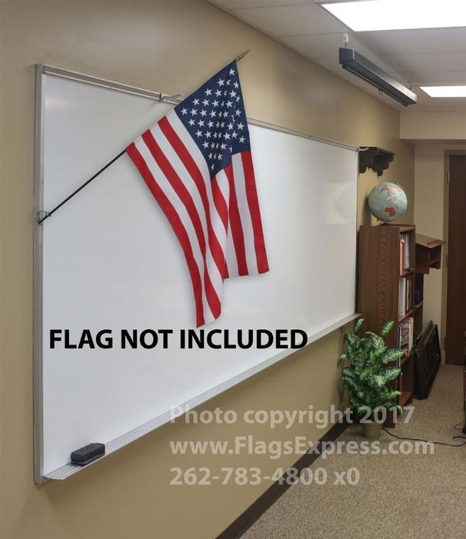 Aluminum Classroom Flag Bracket