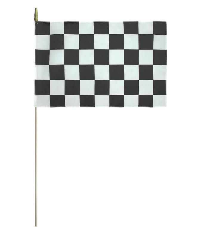 Endura-Poly End of Race Flag - 12'' x 18''