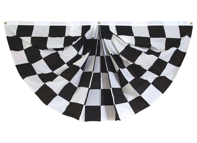 Fully Printed Checkered Fan - 3' x 6'