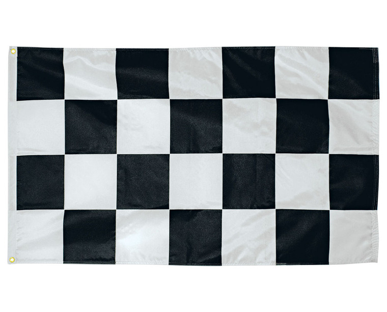 Checkered End of Race Flag