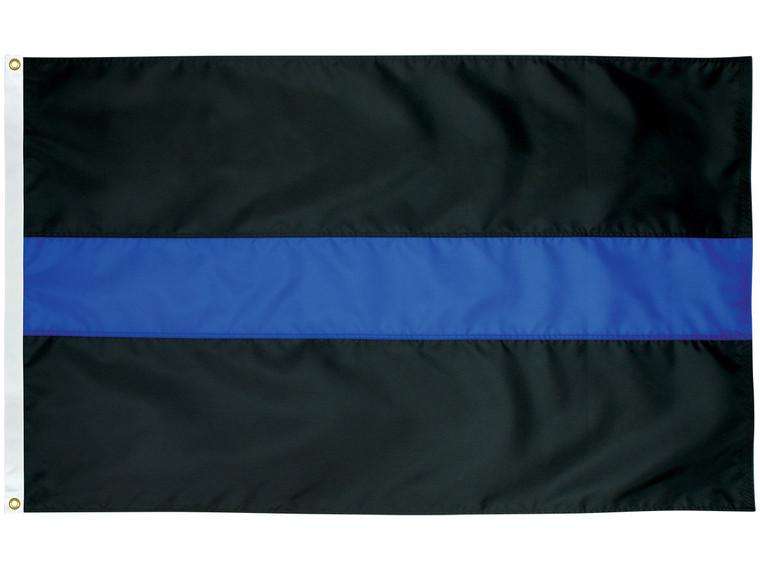 Thin Blue Line Nylon Outdoor Flag