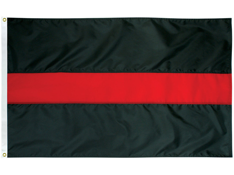 Thin Red Line Nylon Outdoor Flag