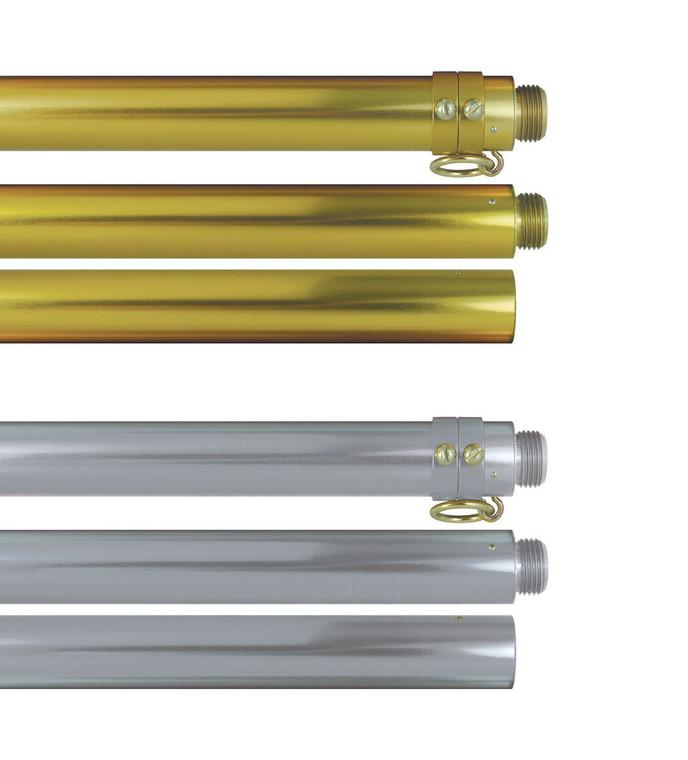 Deluxe Aluminum Indoor Flagpoles