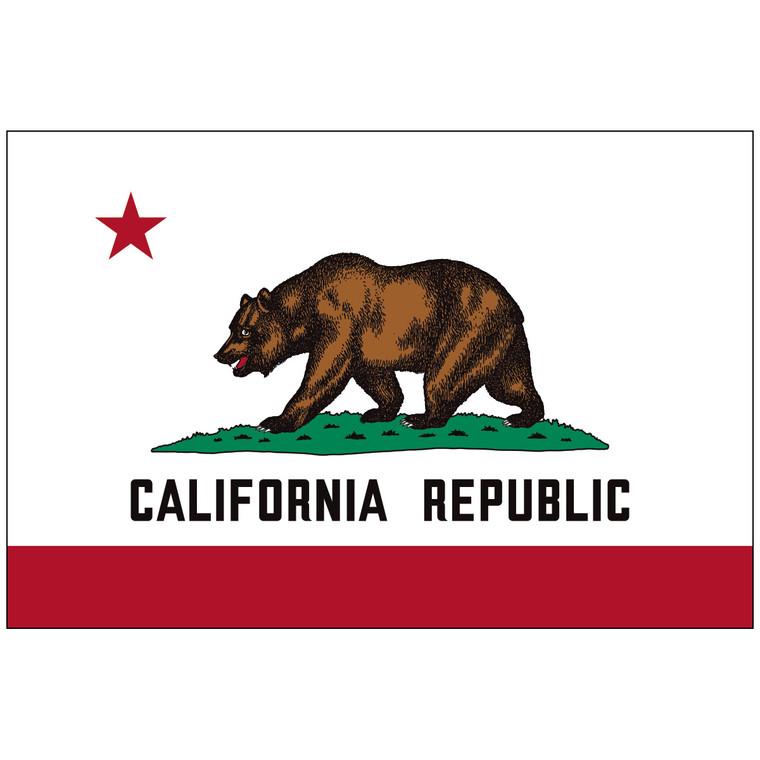 California Indoor / Parade Flag