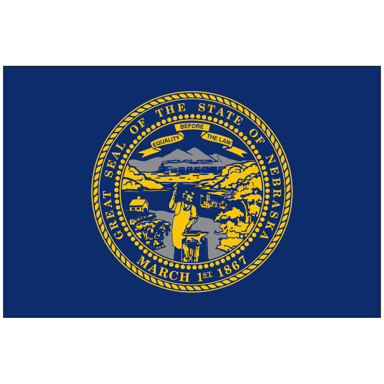 Nebraska Indoor / Parade Flag
