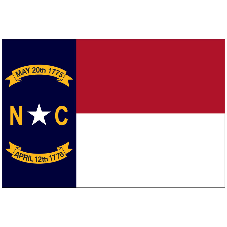 North Carolina Indoor / Parade Flag