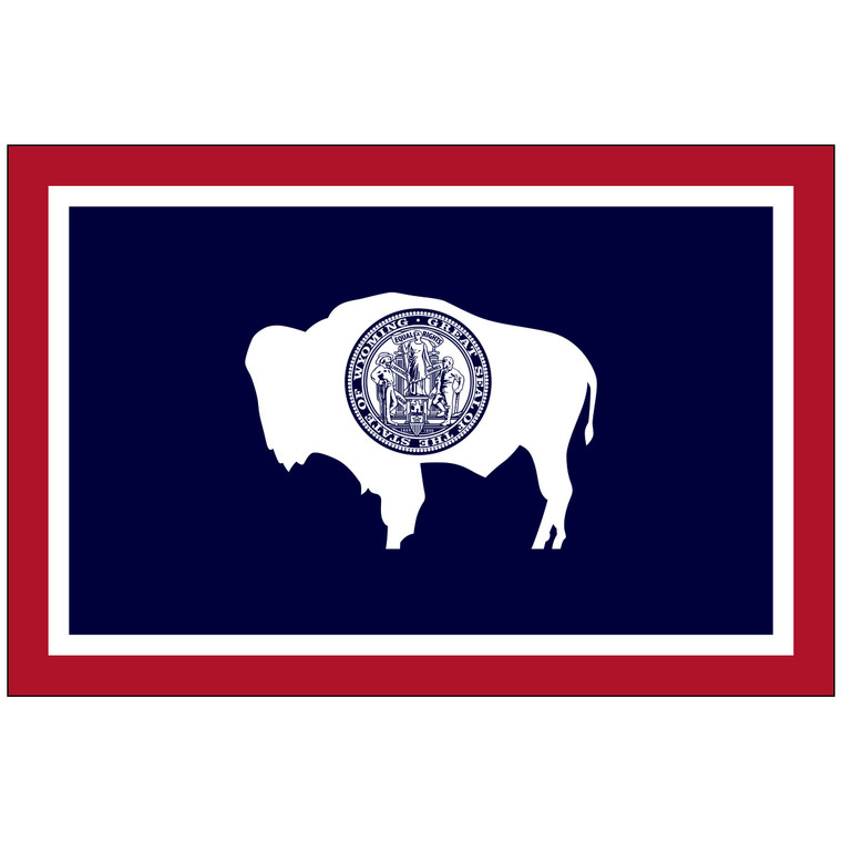 Wyoming Indoor / Parade Flag