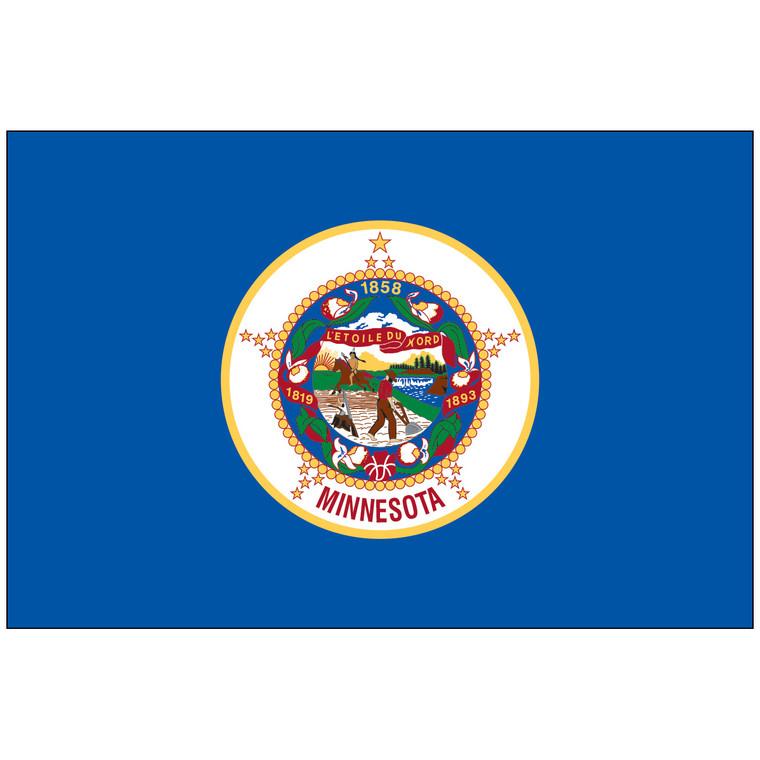 Minnesota Indoor / Parade Flag