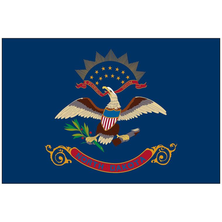 North Dakota Indoor / Parade Flag