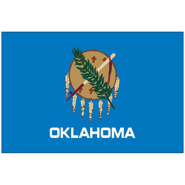 Oklahoma Indoor / Parade Flag