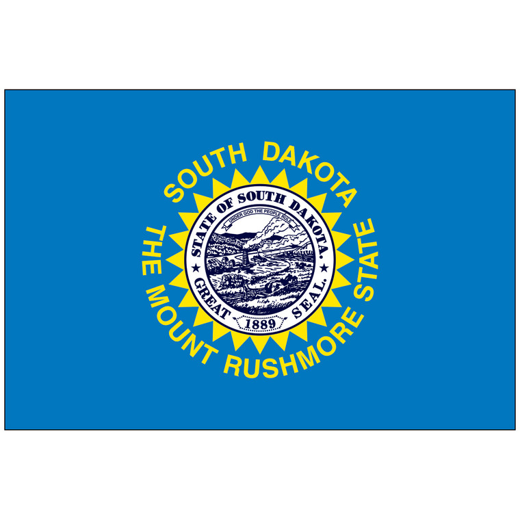 South Dakota Indoor / Parade Flag