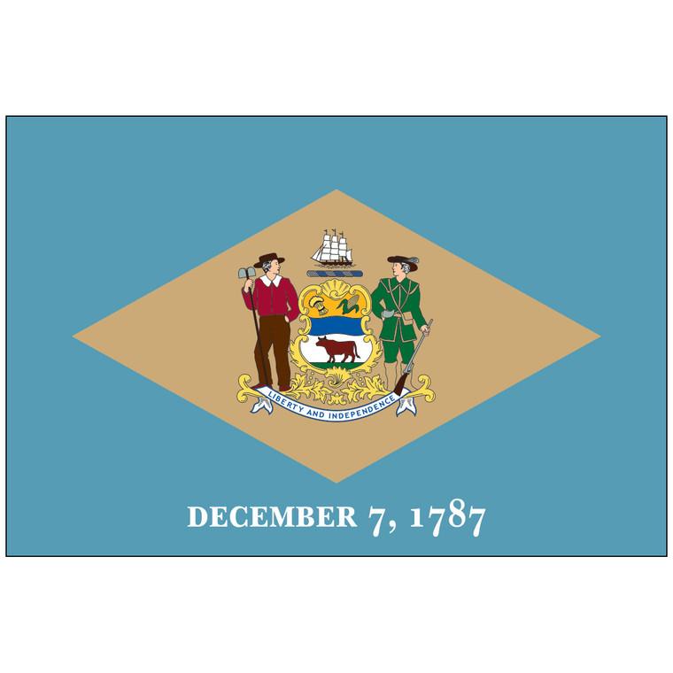Delaware Indoor / Parade Flag
