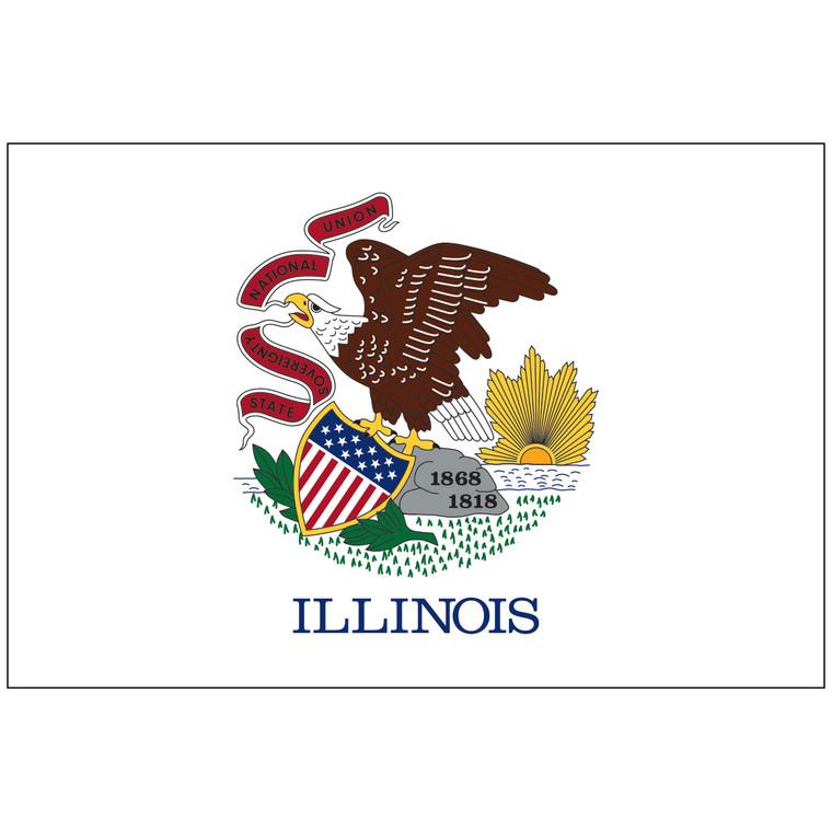Illinois Indoor / Parade Flag
