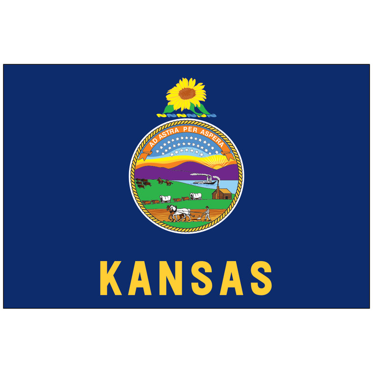 Kansas Indoor / Parade Flag
