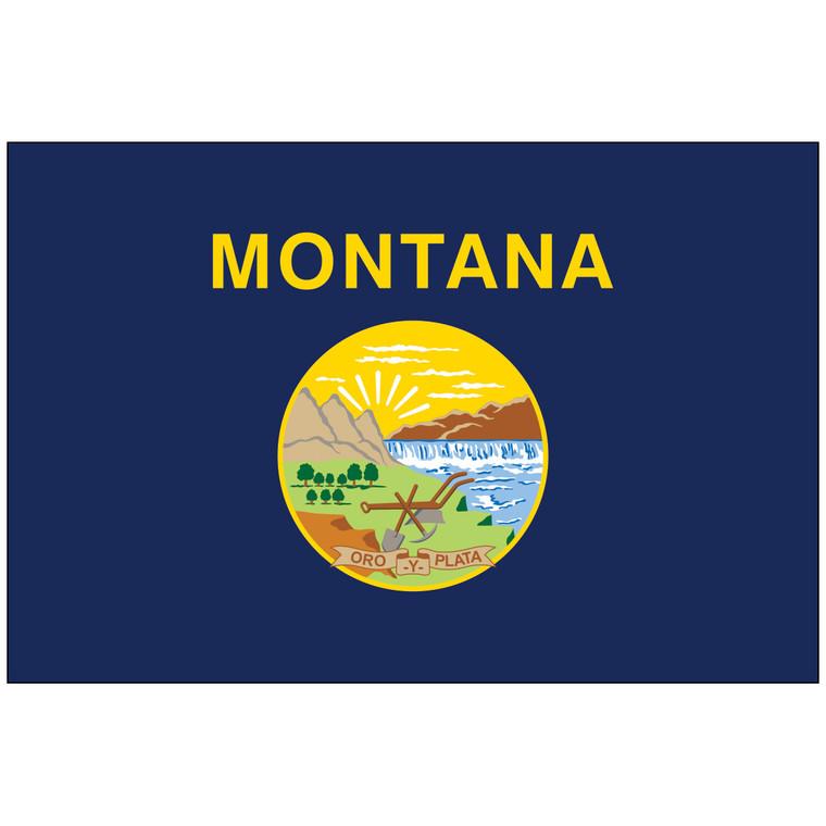 Montana Indoor / Parade Flag