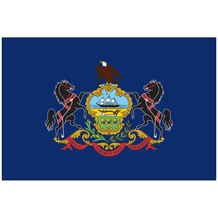 Pennsylvania Indoor / Parade Flag